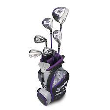 multiple strata golf clubs in a miniature golf bag