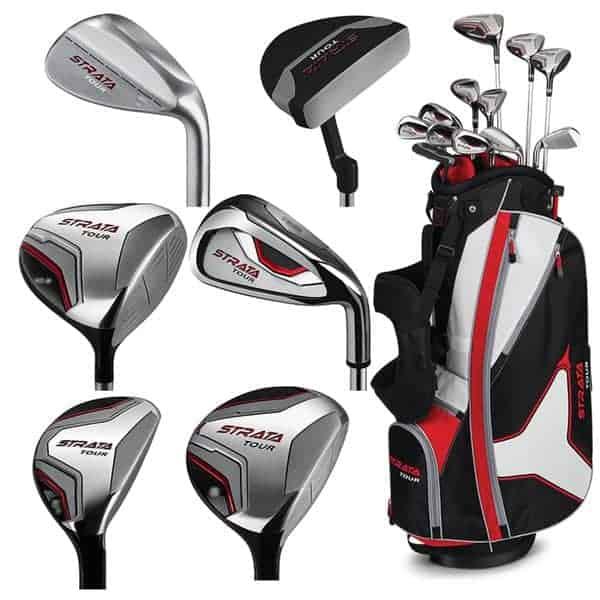 multiple golf clubs