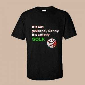 The golfather tshirt