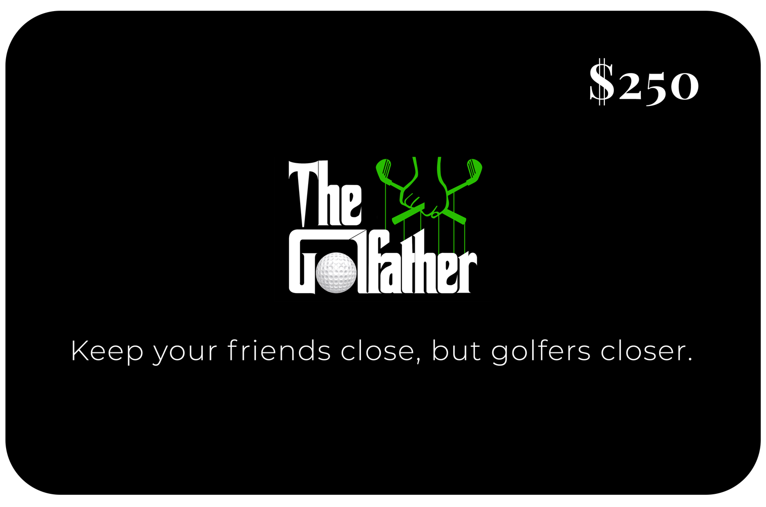 The golfather Giftcard