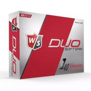 duo soft spin golf balls