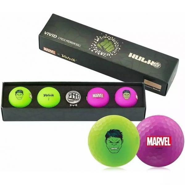 Vivid 4 Pack Golf Balls