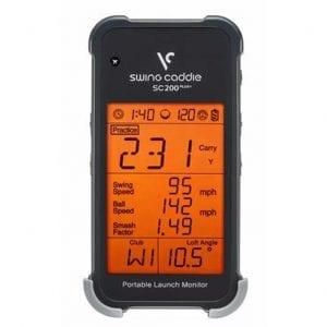 SC200+ Portable Launch Monitor,swing caddie,swing caddie canada
