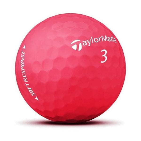 Soft Response Red Golf Balls
