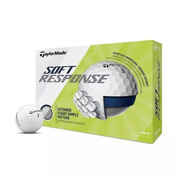 Soft Response Golf Balls