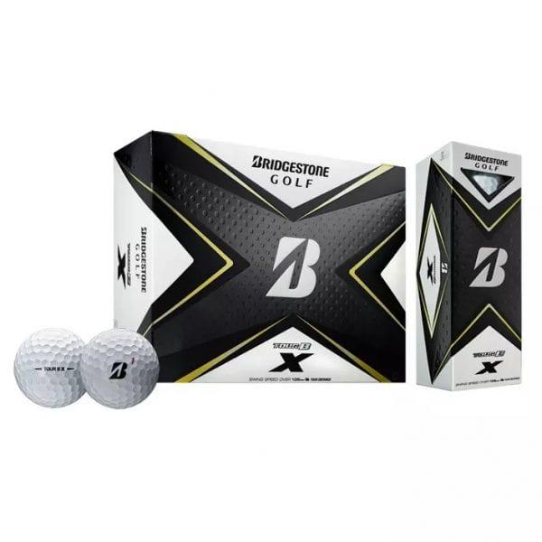 Tour B X Golf Balls - White
