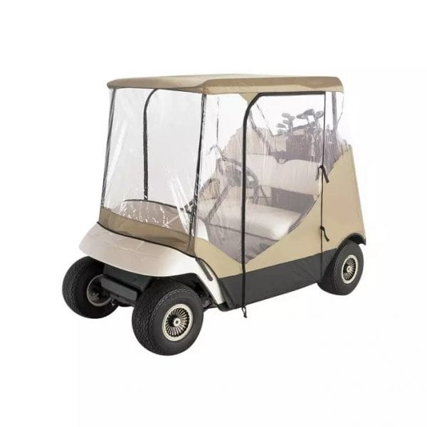 Travel 4-Sided Golf Cart Enclosure,Golf Cart Covers