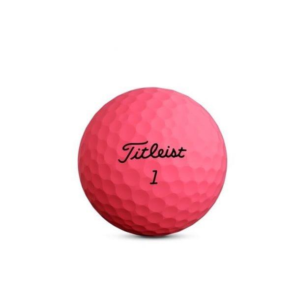 Velocity Matte Pink Golf Balls