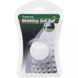 wobbling Golf Ball