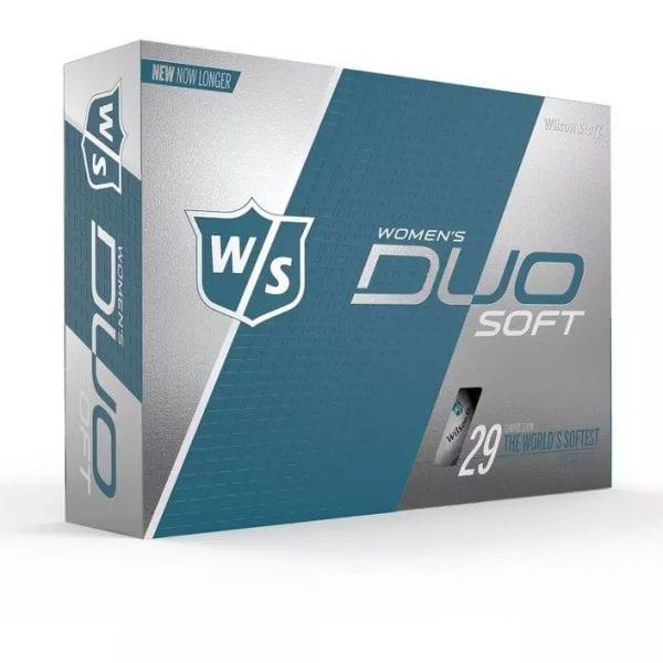 Women's DUO Soft Golf Balls - White