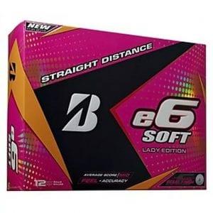 Women's e6 Soft Golf Balls - White