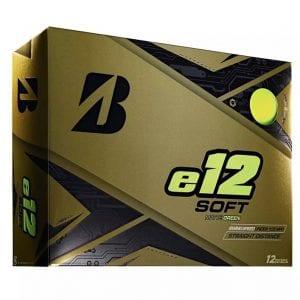 e12 Soft Golf Balls - Green