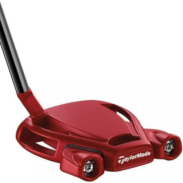 Red Golf Putter