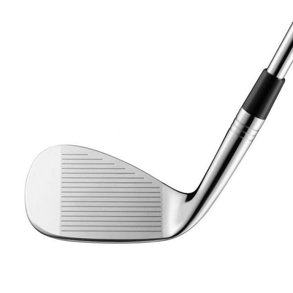 Milled Grind Satin Wedge with Steel Shaft