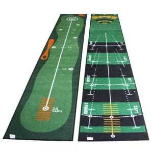 1pcs Golf Hitting Mat Carpet 300 50cm Putting Trainer Golf Practice Pad Golf Putter Green Fairway 1
