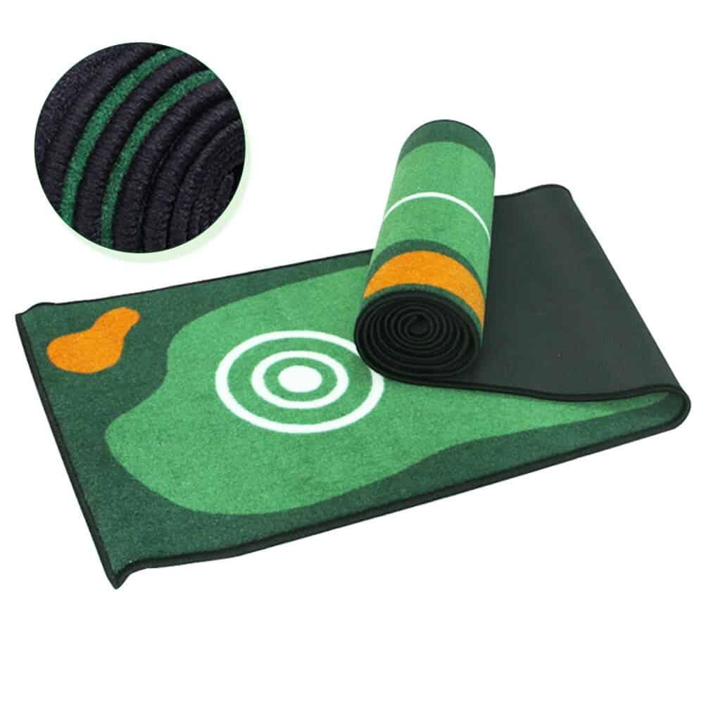 1pcs Golf Hitting Mat Carpet 300 50cm Putting Trainer Golf Practice Pad Golf Putter Green Fairway 2