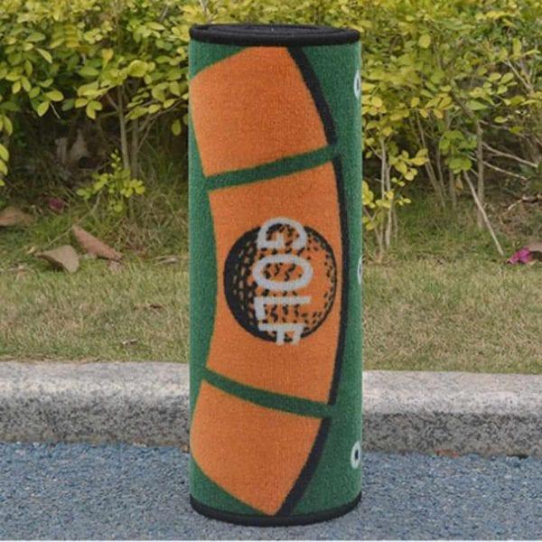 1pcs Golf Hitting Mat Carpet 300 50cm Putting Trainer Golf Practice Pad Golf Putter Green Fairway 4