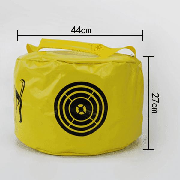 Golf Swing Training Bag Golf Power Impact Swing Aid Practice Smash Hit Strike Bag Multifunctional Golf 1