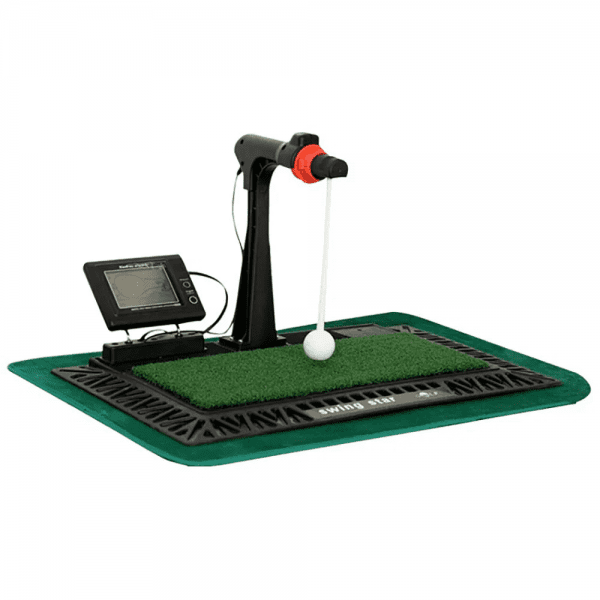 Indoor Digital Swing Practice Golf Swing Exerciser Trainer With English Panel Digital Screen Amp Auxiliary Voice 6