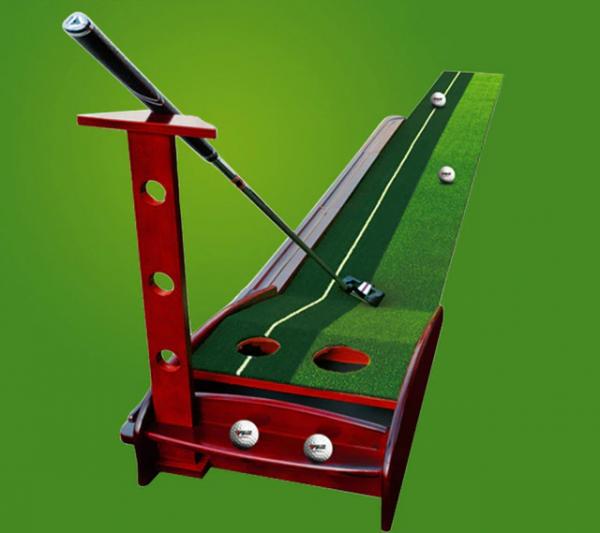 Solid Wood Driver Indoor Golf Trainer (3)