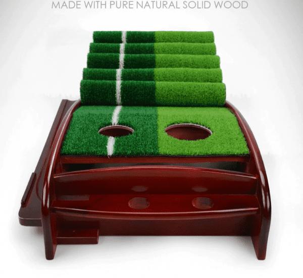 Solid Wood Driver Indoor Golf Trainer (4)