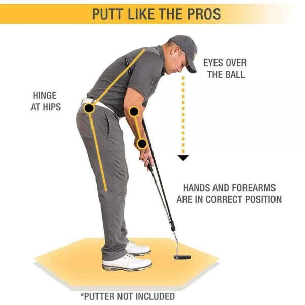 Tpm Golf Putting Swing Trainer 3